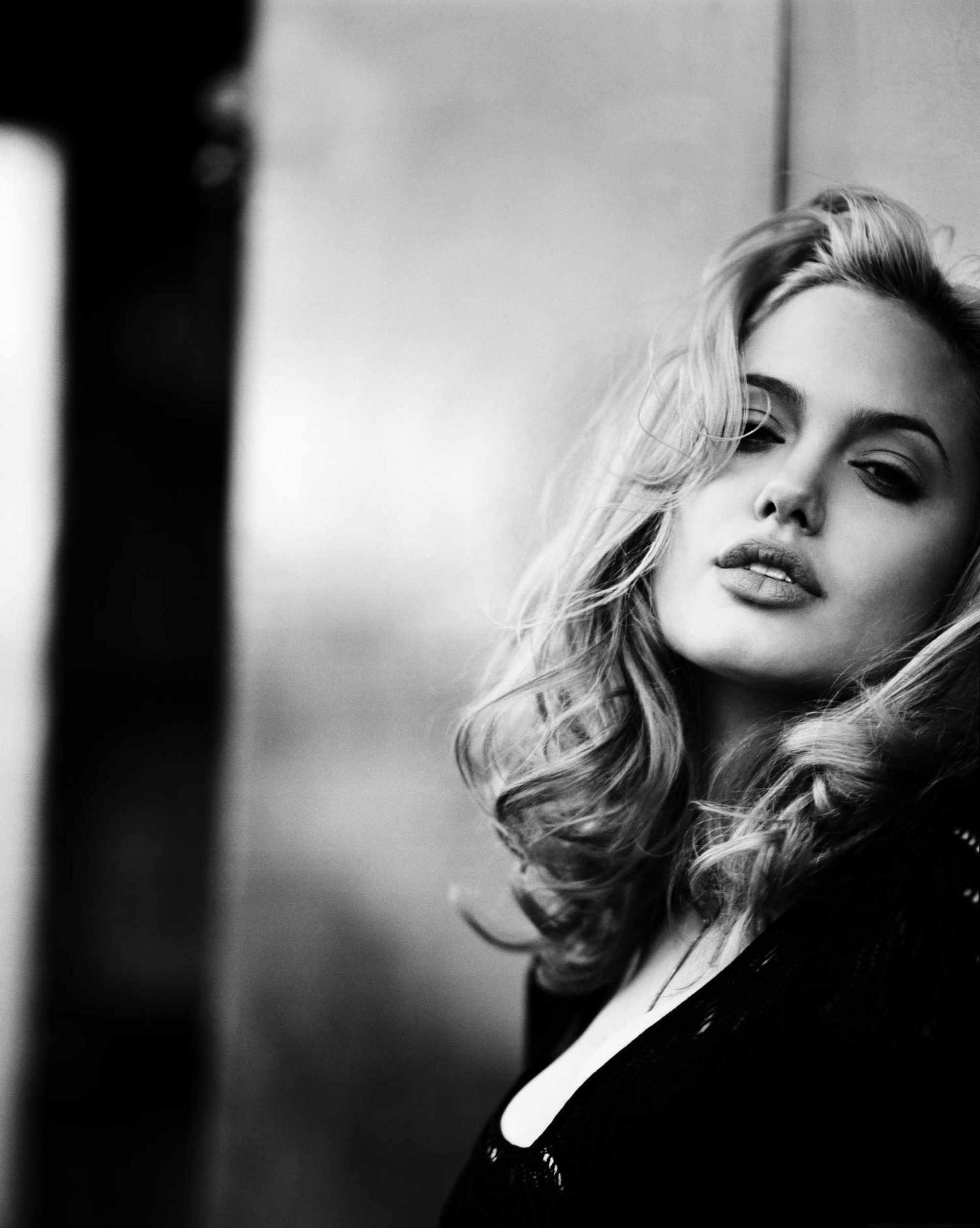 Чёрно белые фотографии блондинок 17 фотография