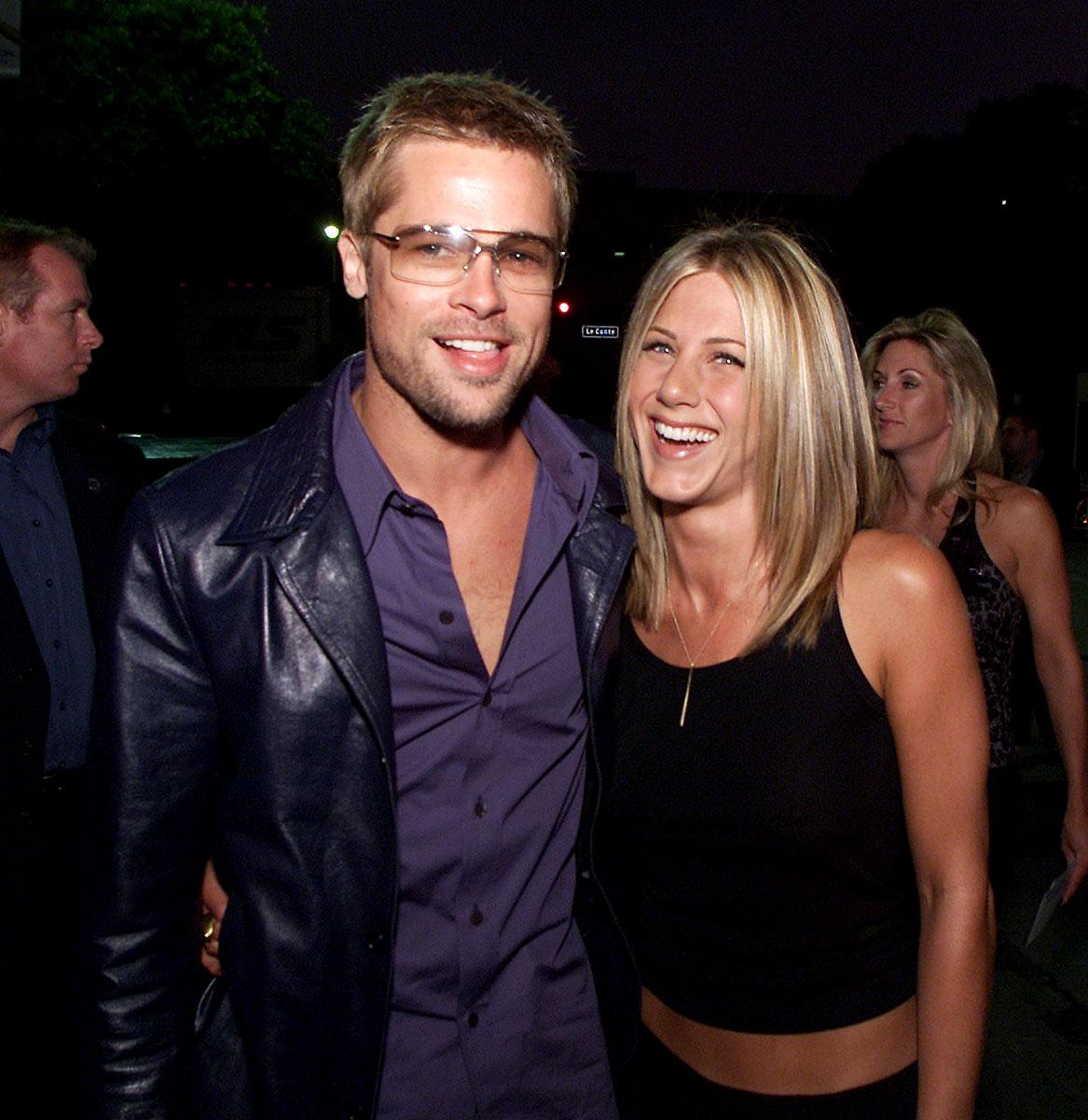 Brad Pitt Seen For 1st Time Since Jennifer Aniston Split With Justin Brad and jen photos