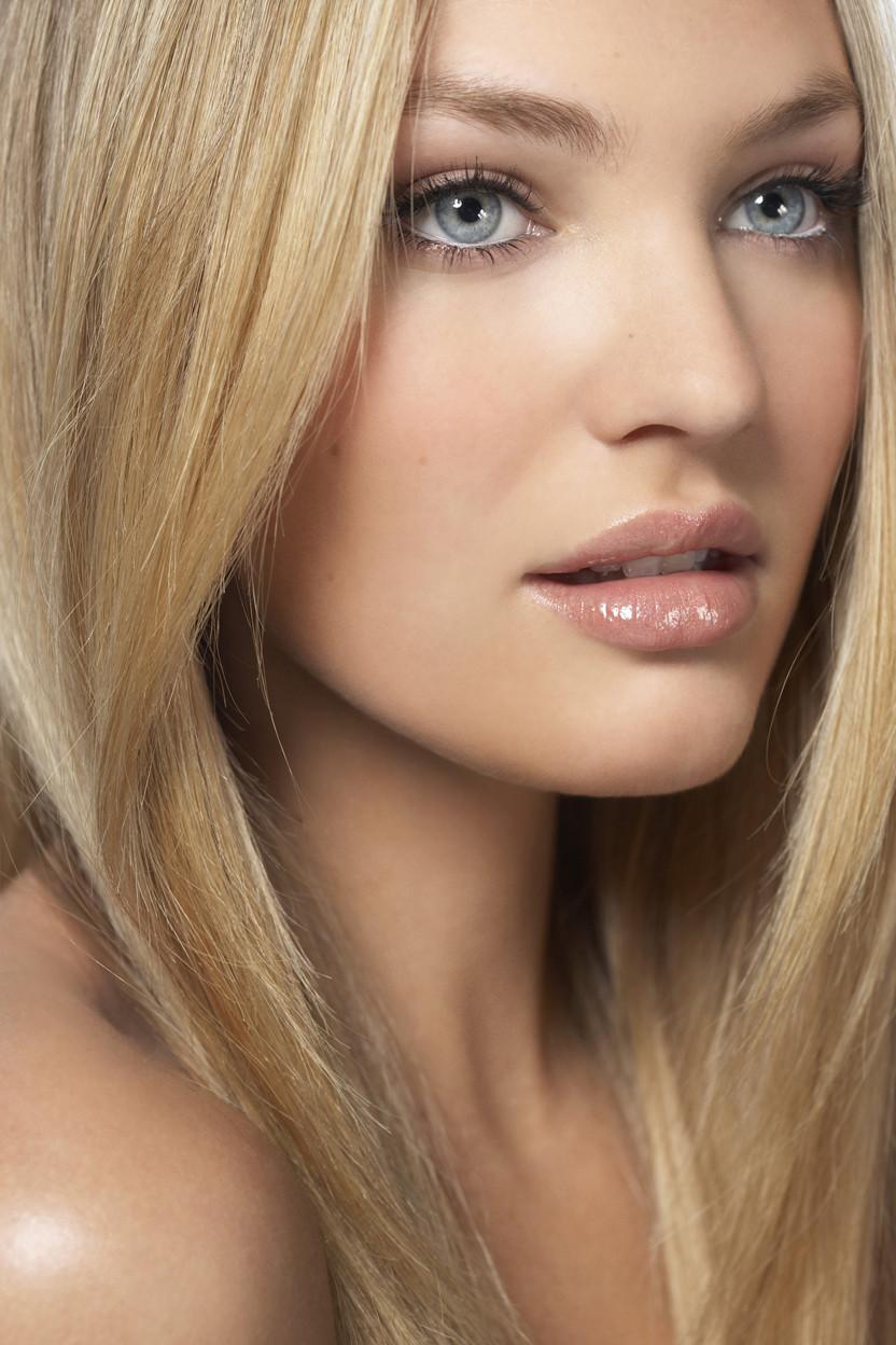 Естественный макияж блондинок фото