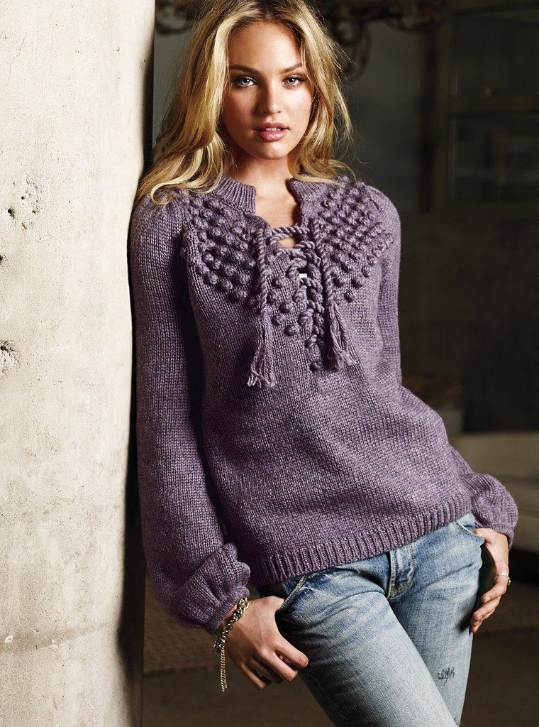 Вязание модные кофты для женщин 824