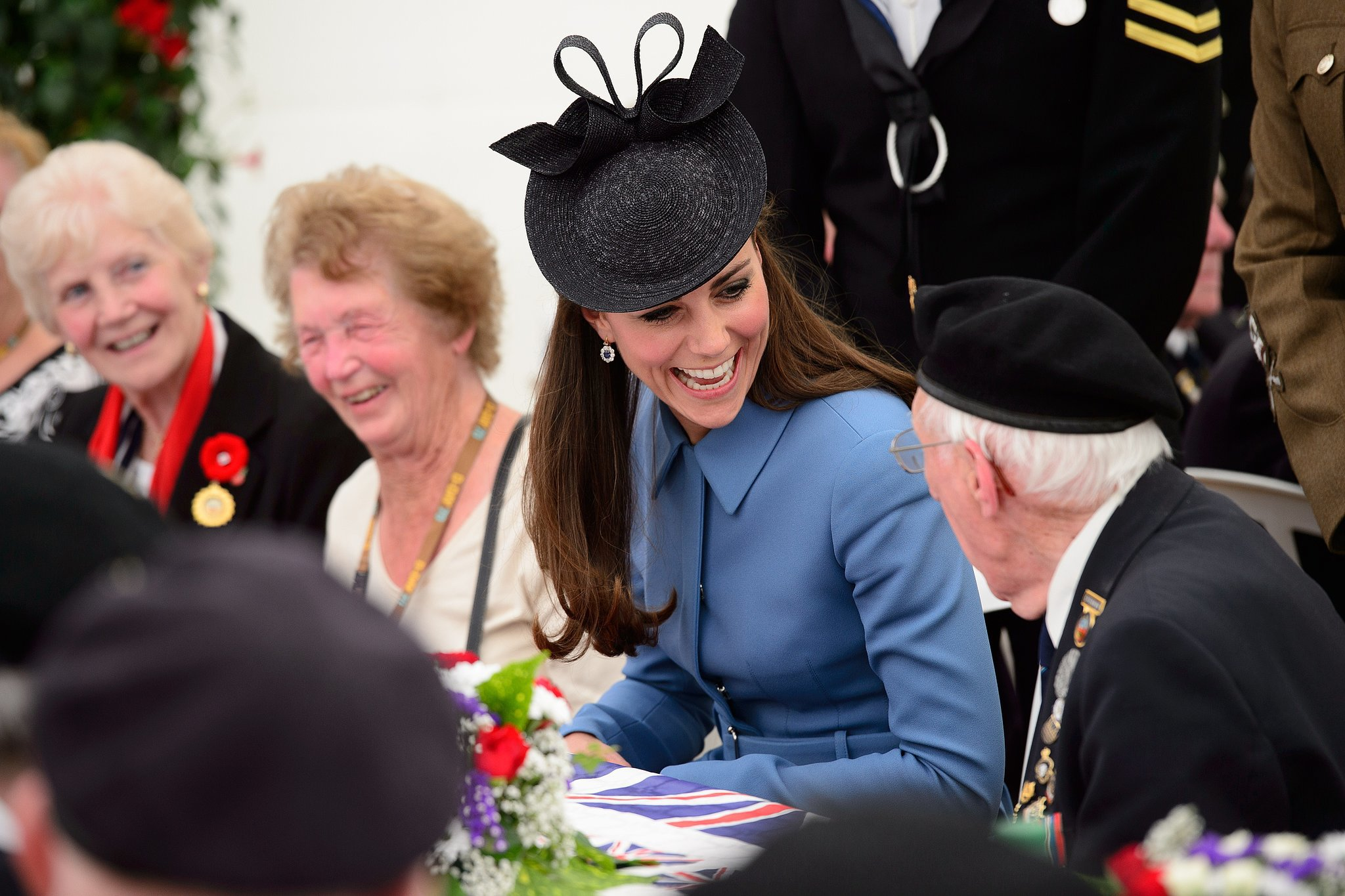 Catherine, Duchess of Cambridge visits the UNICEF emergency supply ...