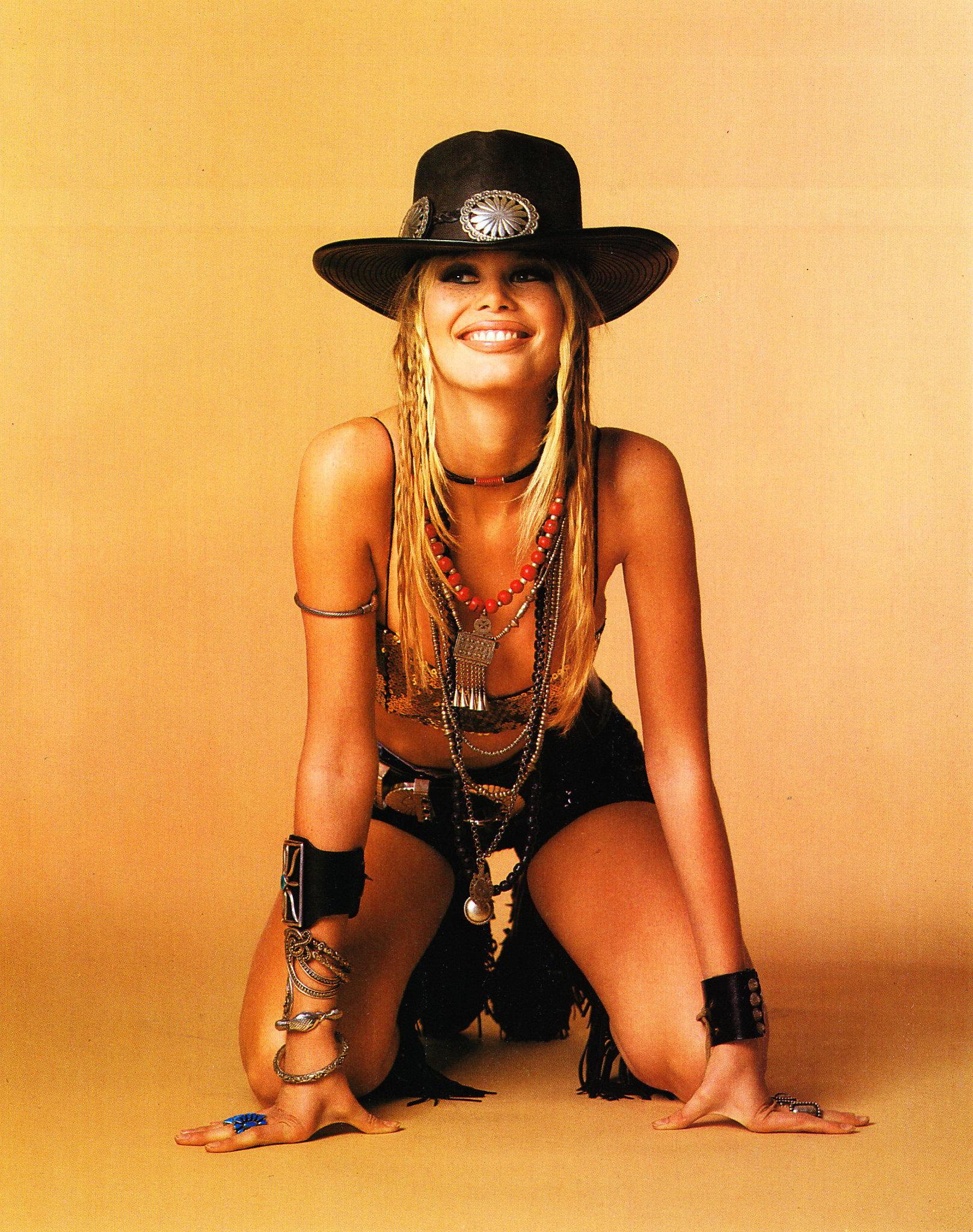 Фото девушек в ковбойской шляпе 7 фотография