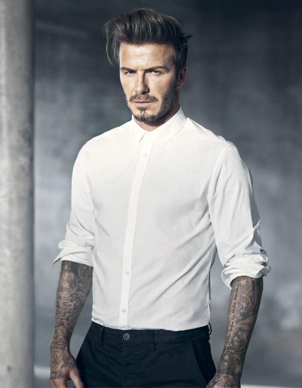 David beckham model photos