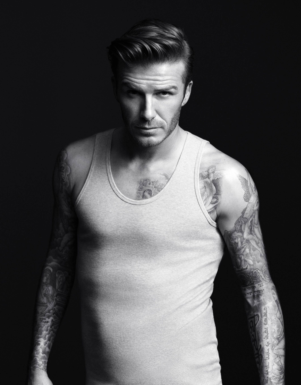 david backham side part hair add campaign1 220x230 David Beckham Slick Back Undercut Hairstyle. david backham side...