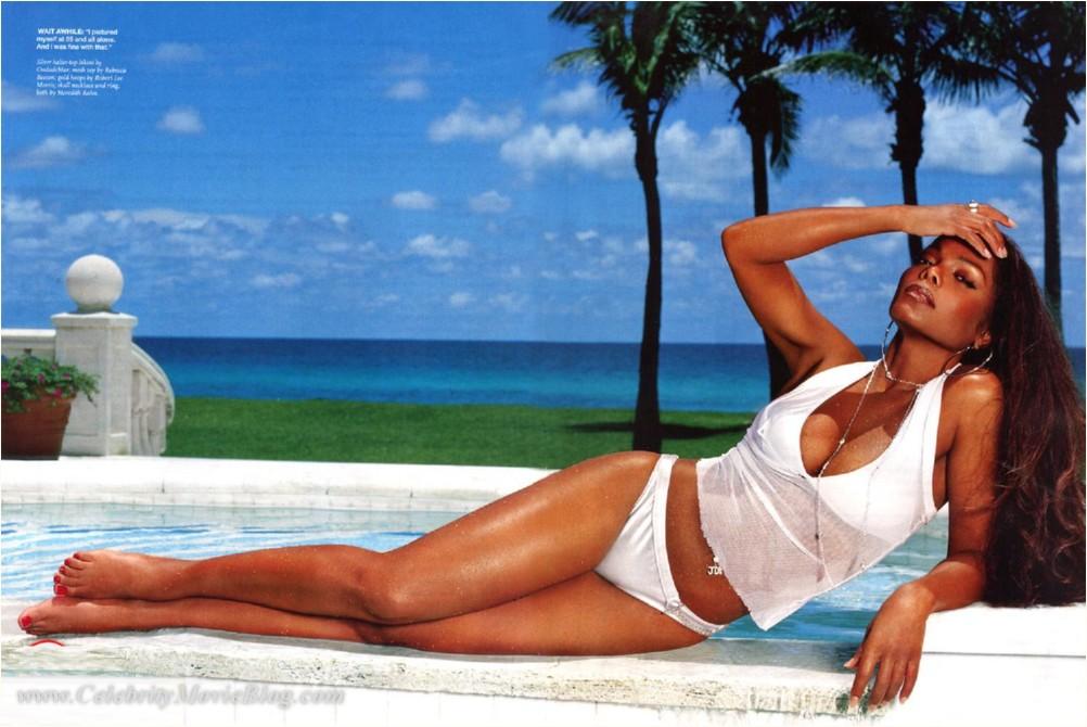 Janet jackson sunbathing pic