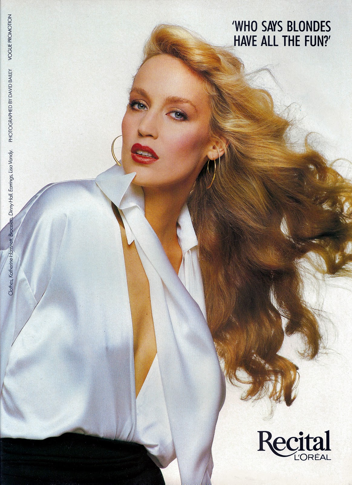 jerry hall young