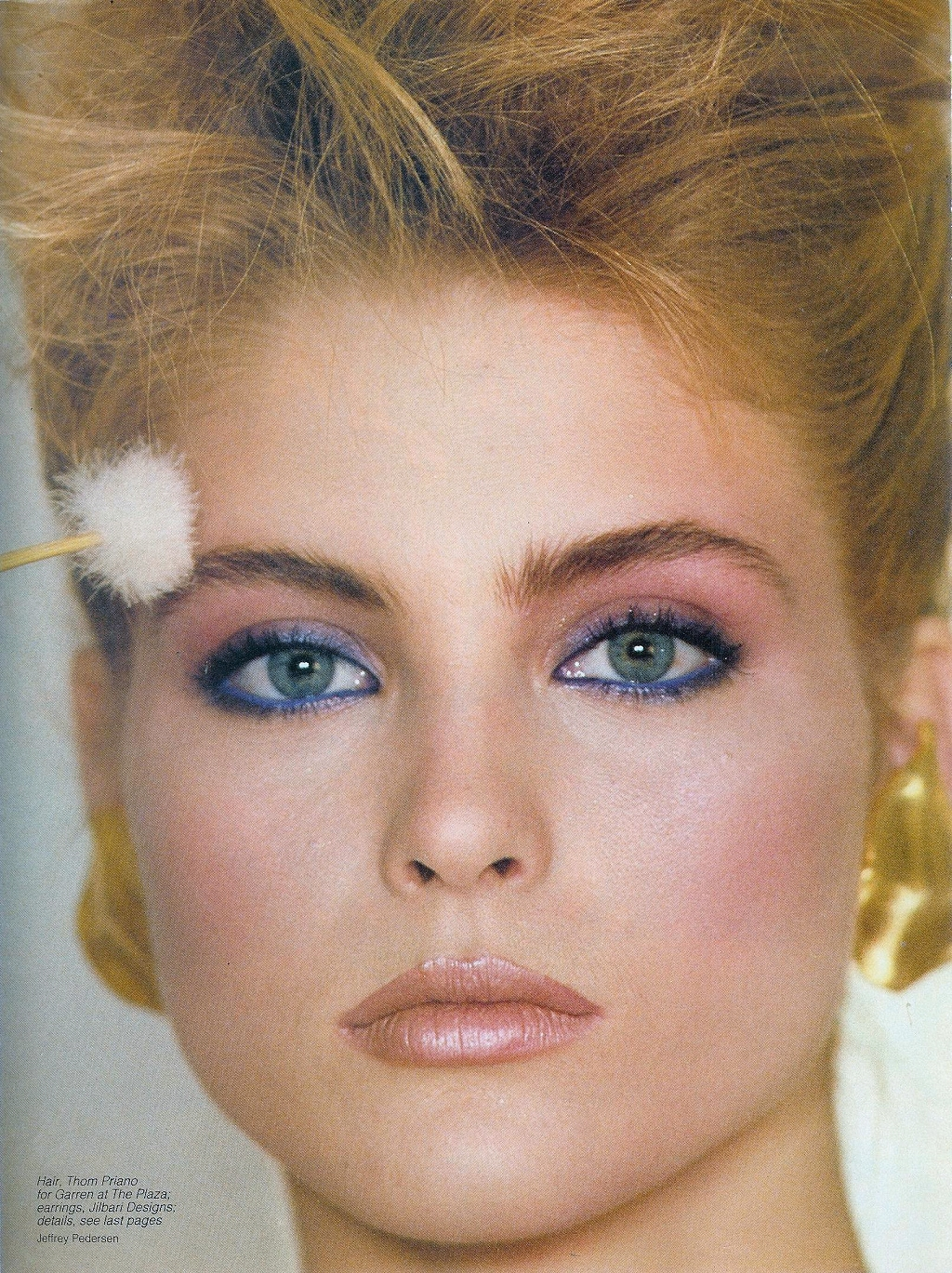 1980s makeup and hair