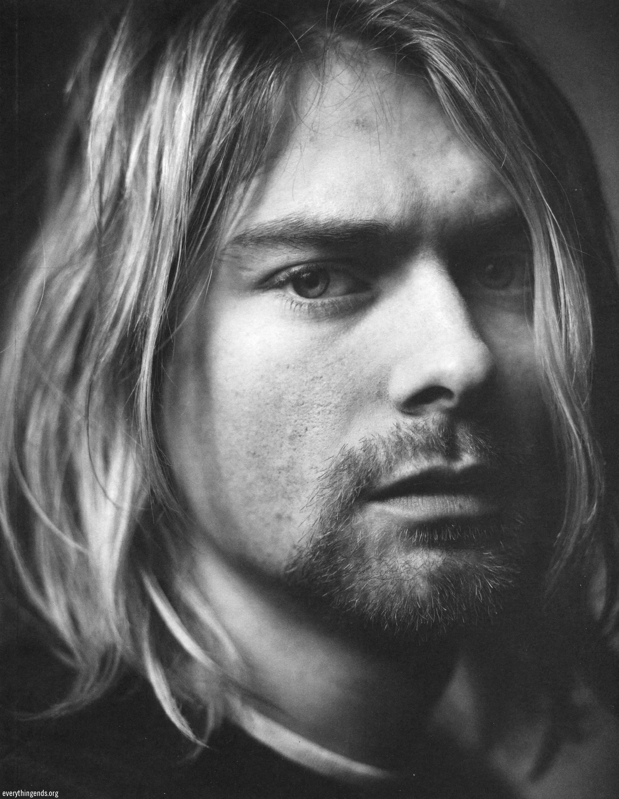 kurt cobain I wrote a biography about kurt cobain in 2006 since then, i've come to the  realization that it's better to let his legacy lie because i believe he.