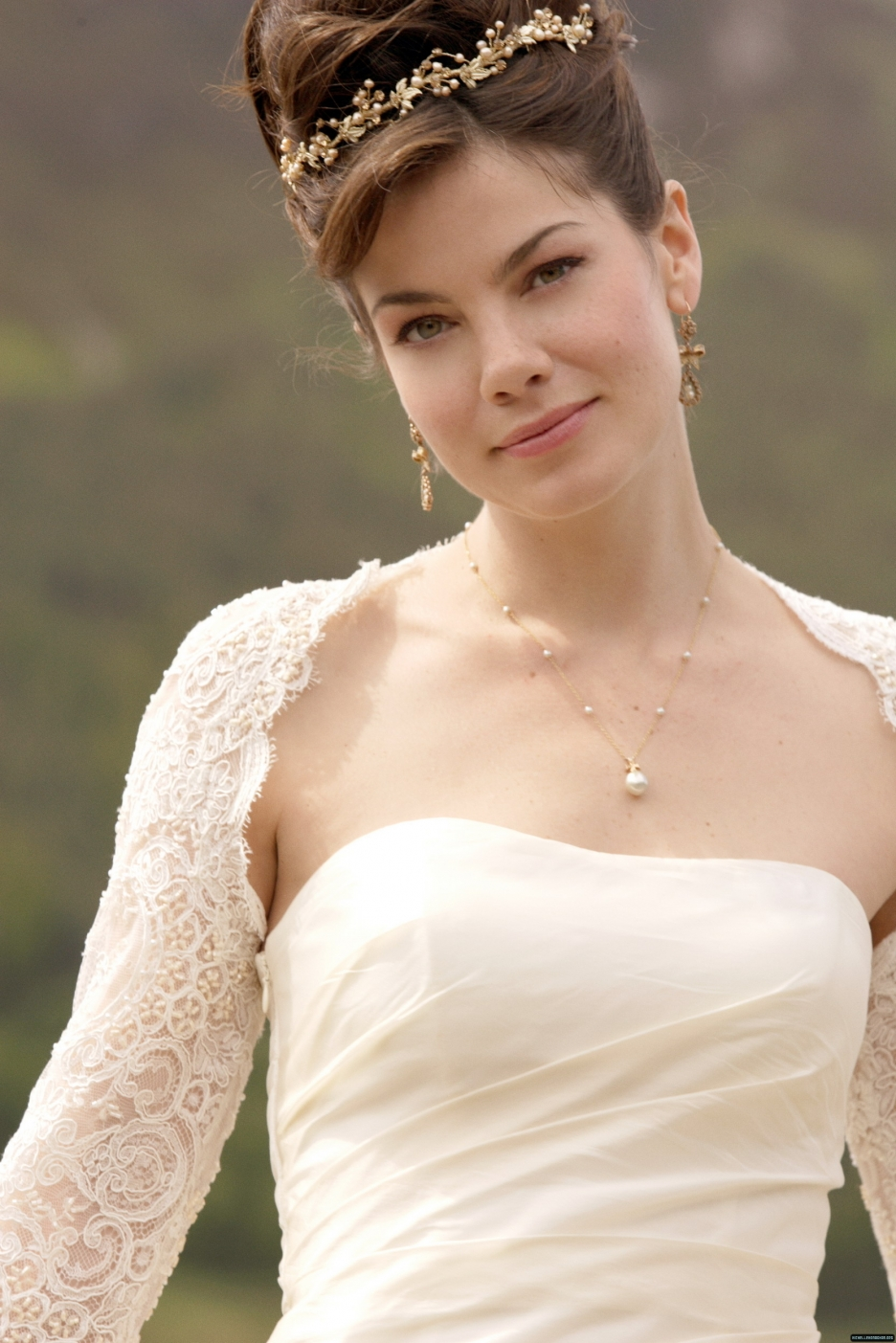 Michelle monaghan photo 208 of 397 pics wallpaper photo for Made of honor wedding dress
