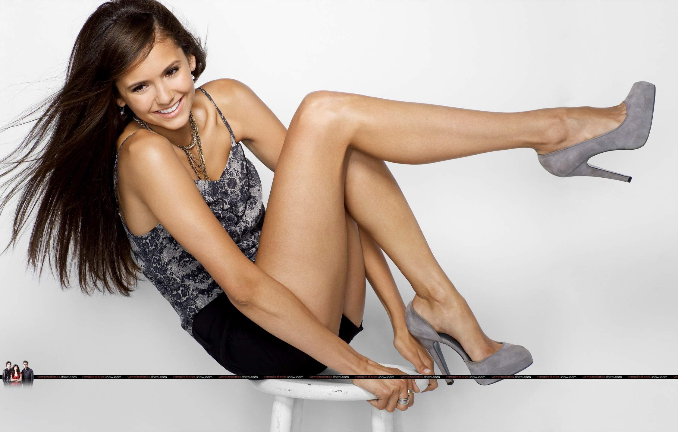 Nina Dobrev. site design and SEO.
