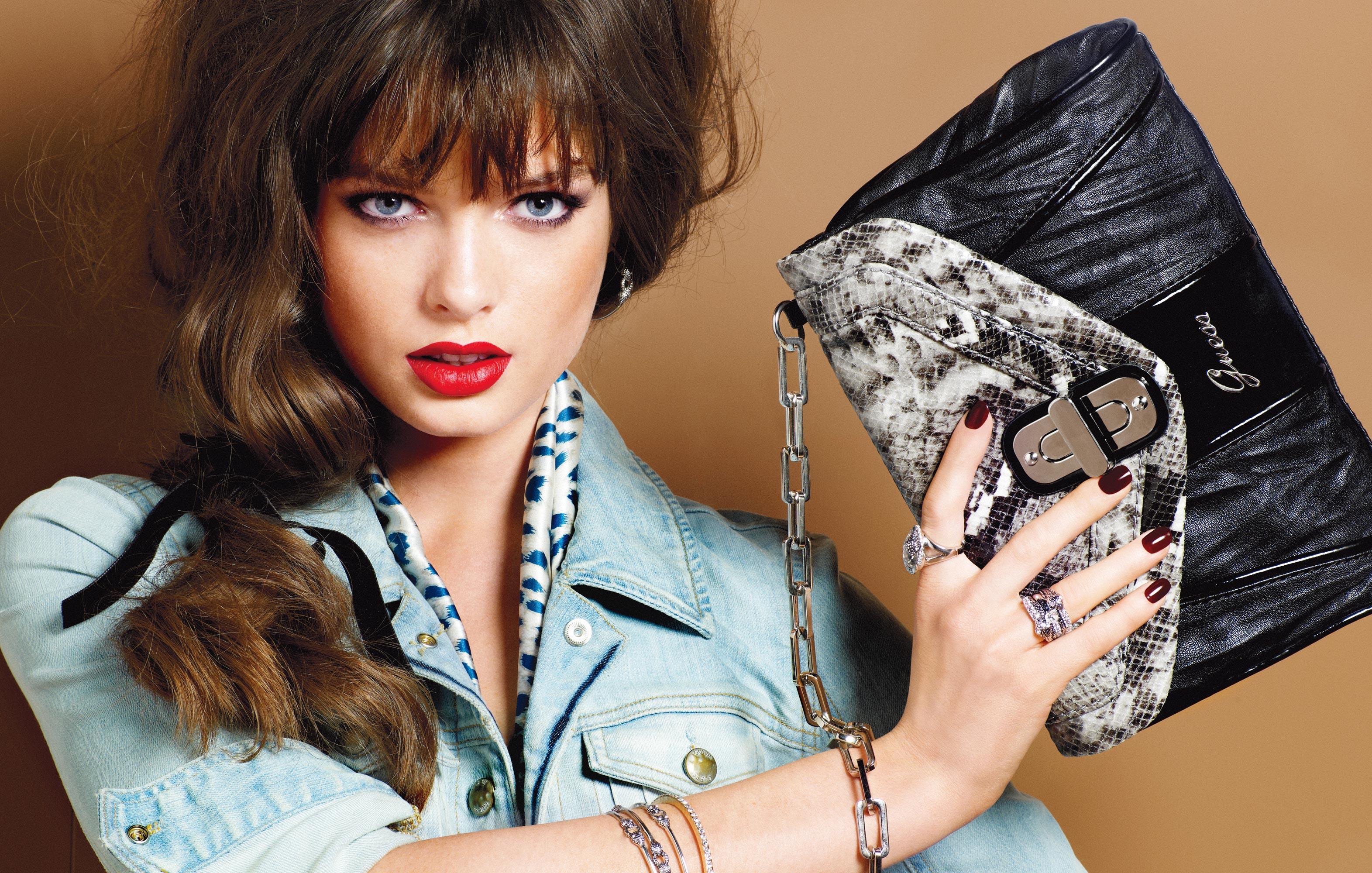 Elite models fashion bags