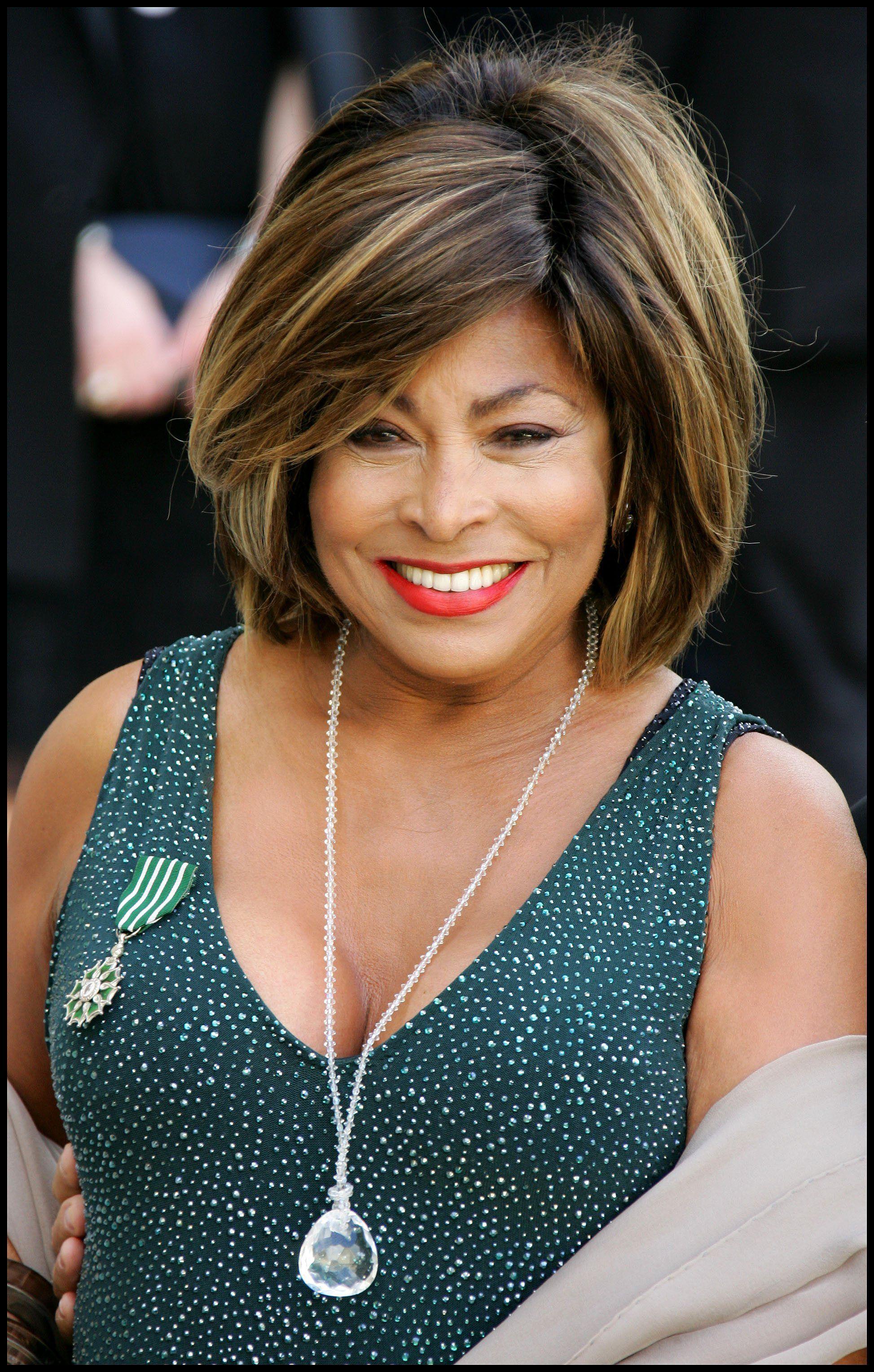 Tina Turner Tina Turner | Short Hairstyle 2013