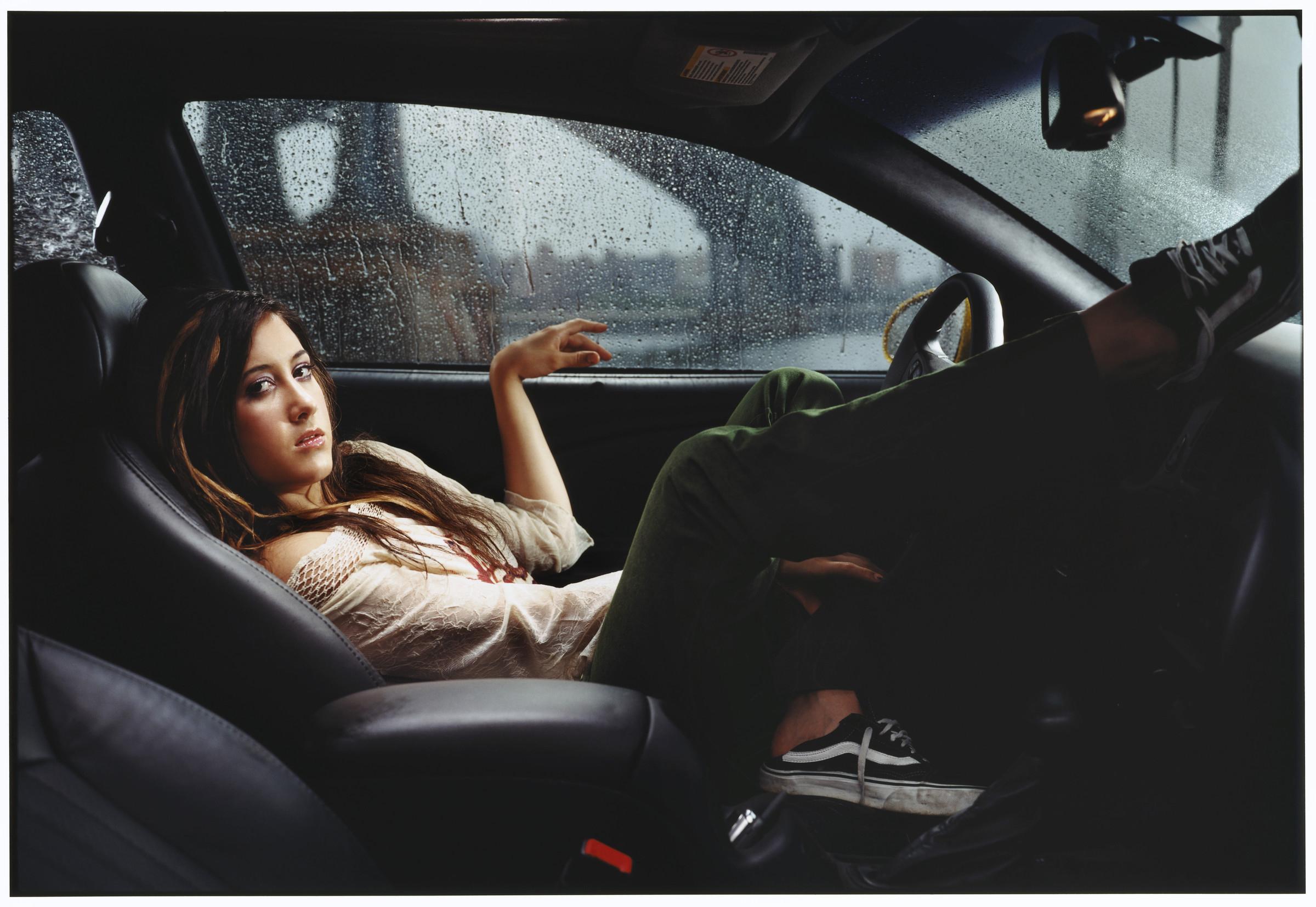 Фото дівчата в машині 1 фотография
