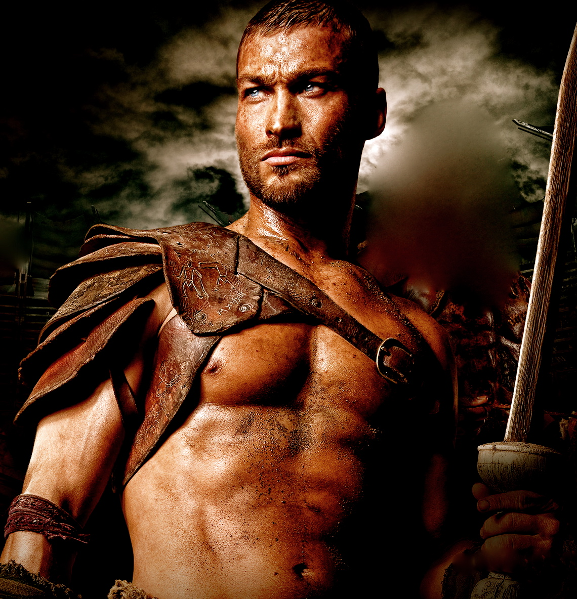 andy whitfield images andy HD wallpaper and background photos ...