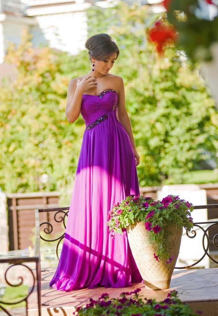 красивые вечерние платья фото ани лорак
