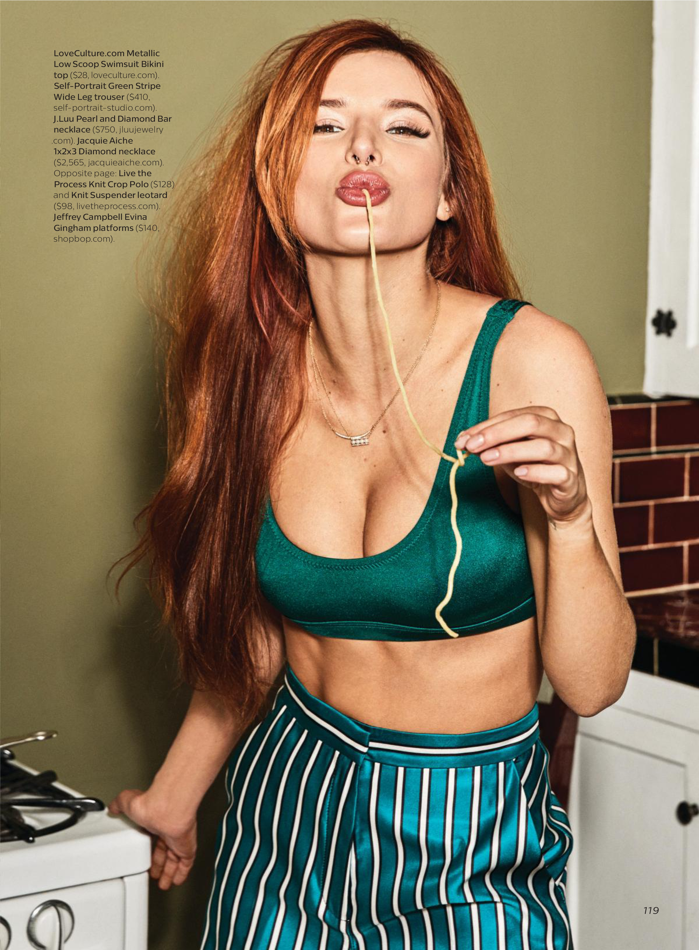 bella thorne shows off - photo #5