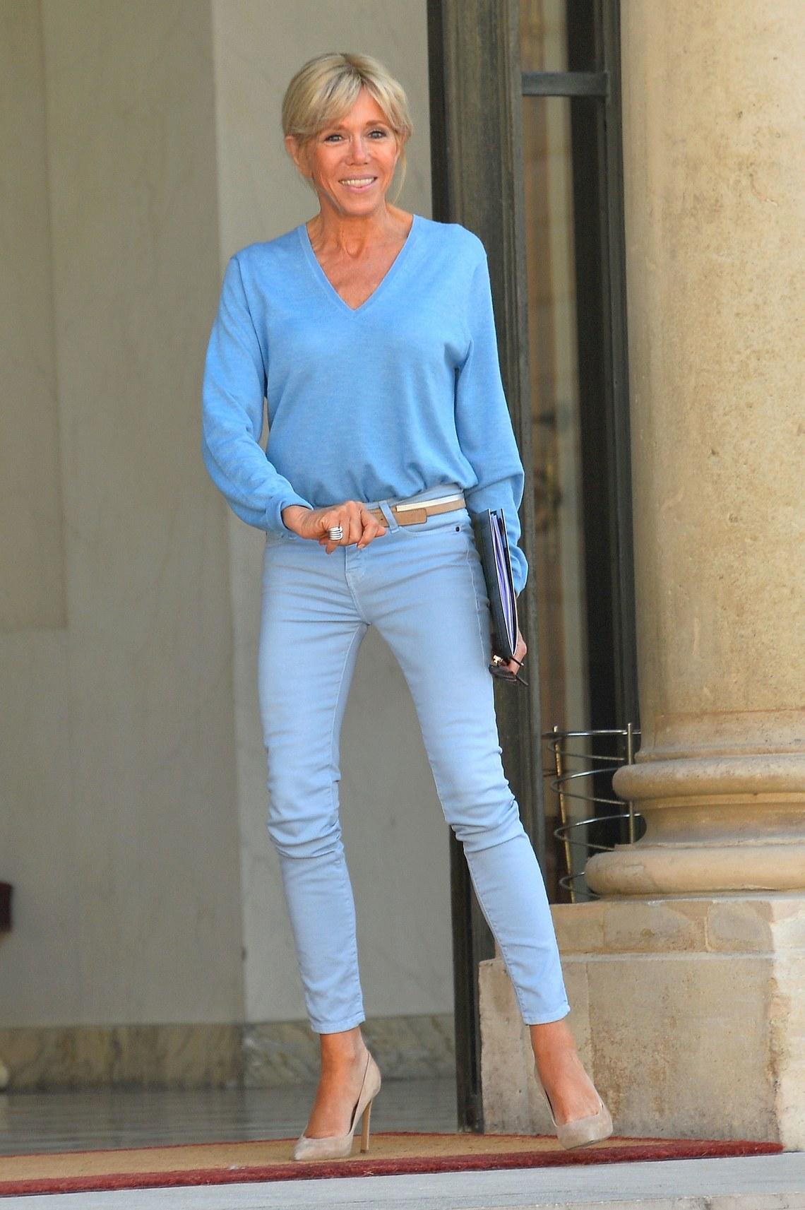 Brigitte Macron photo gallery - high quality pics of