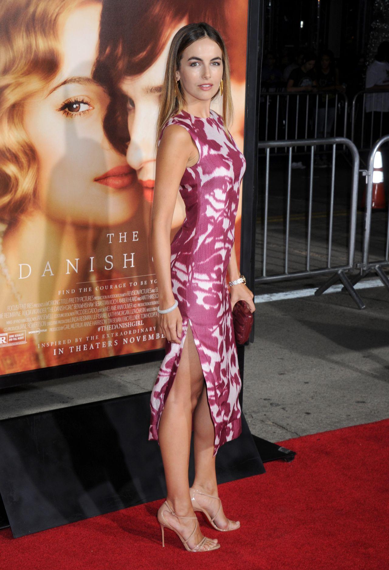 Camilla Belle The Danish Girl Premiere In Westwood November