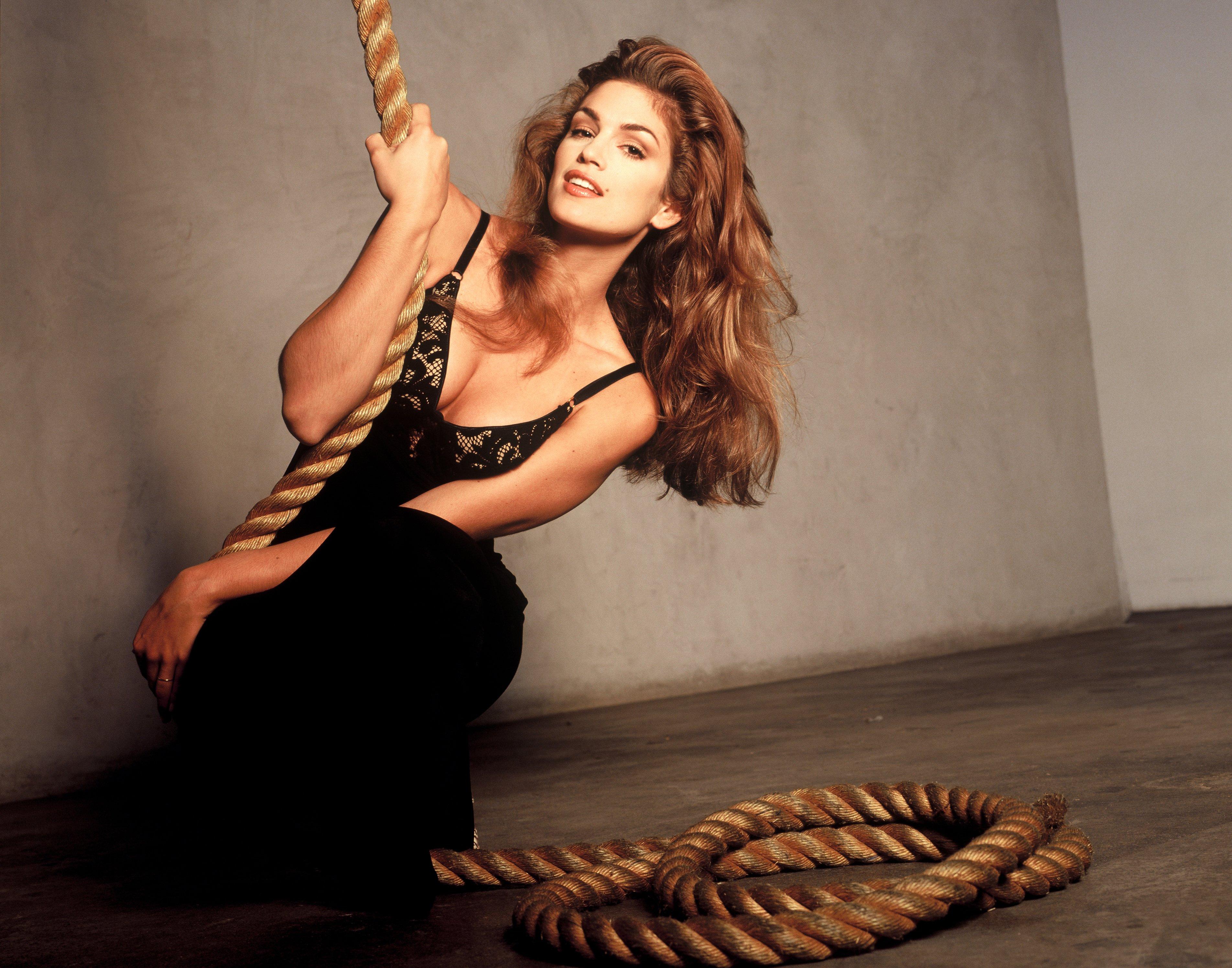 Супермодели на обложке Playboy пикантные фотосессии Синди