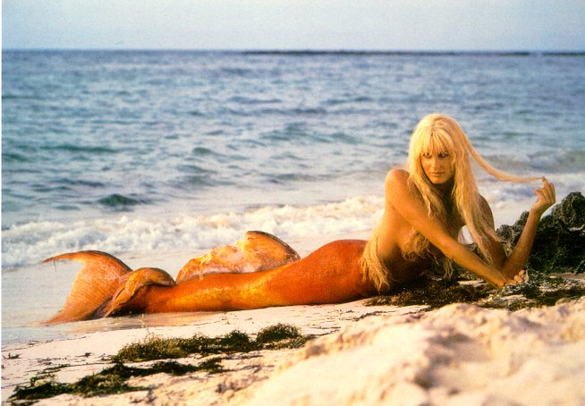голые фото русалки