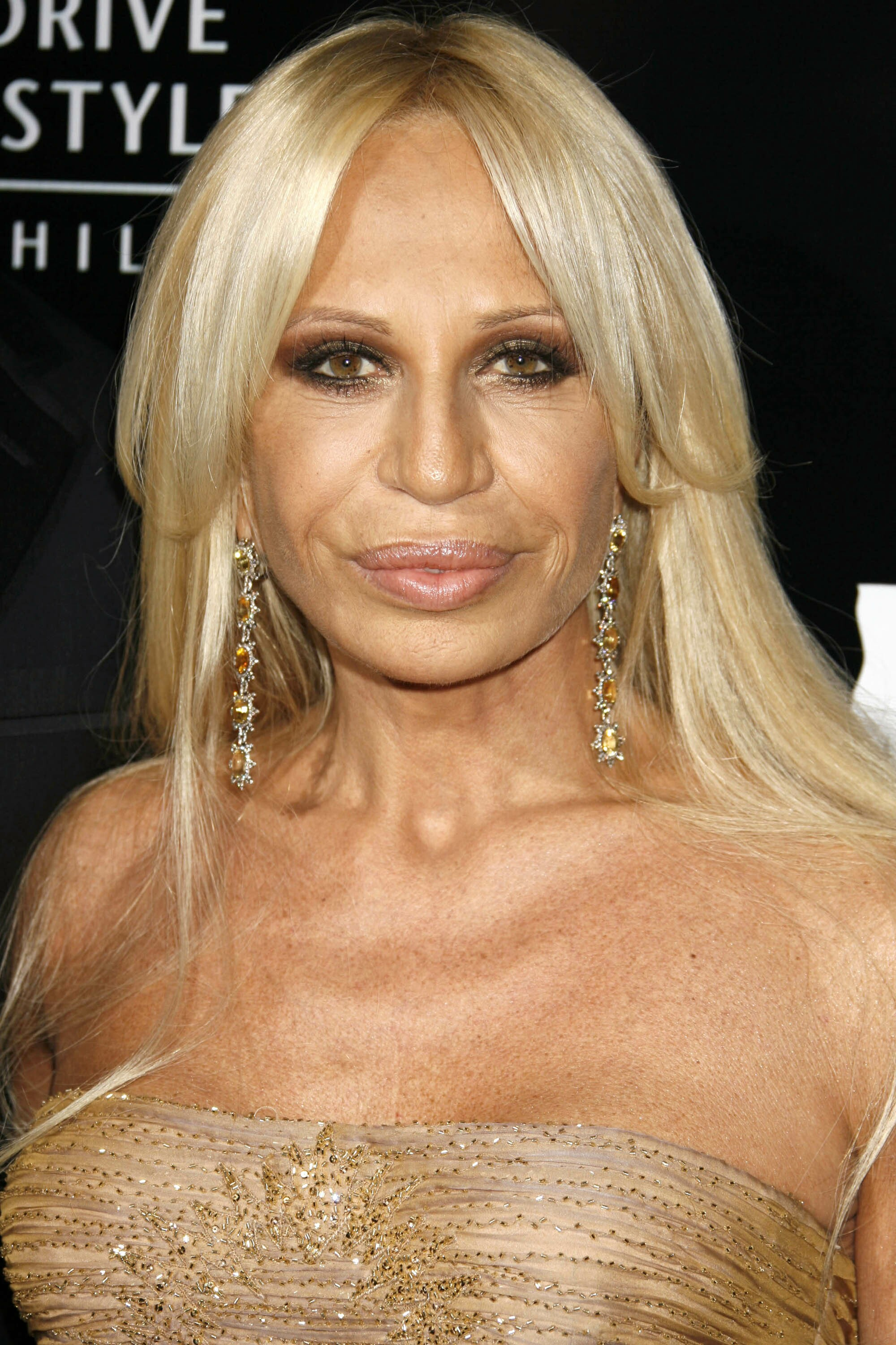 Donatella In Versace