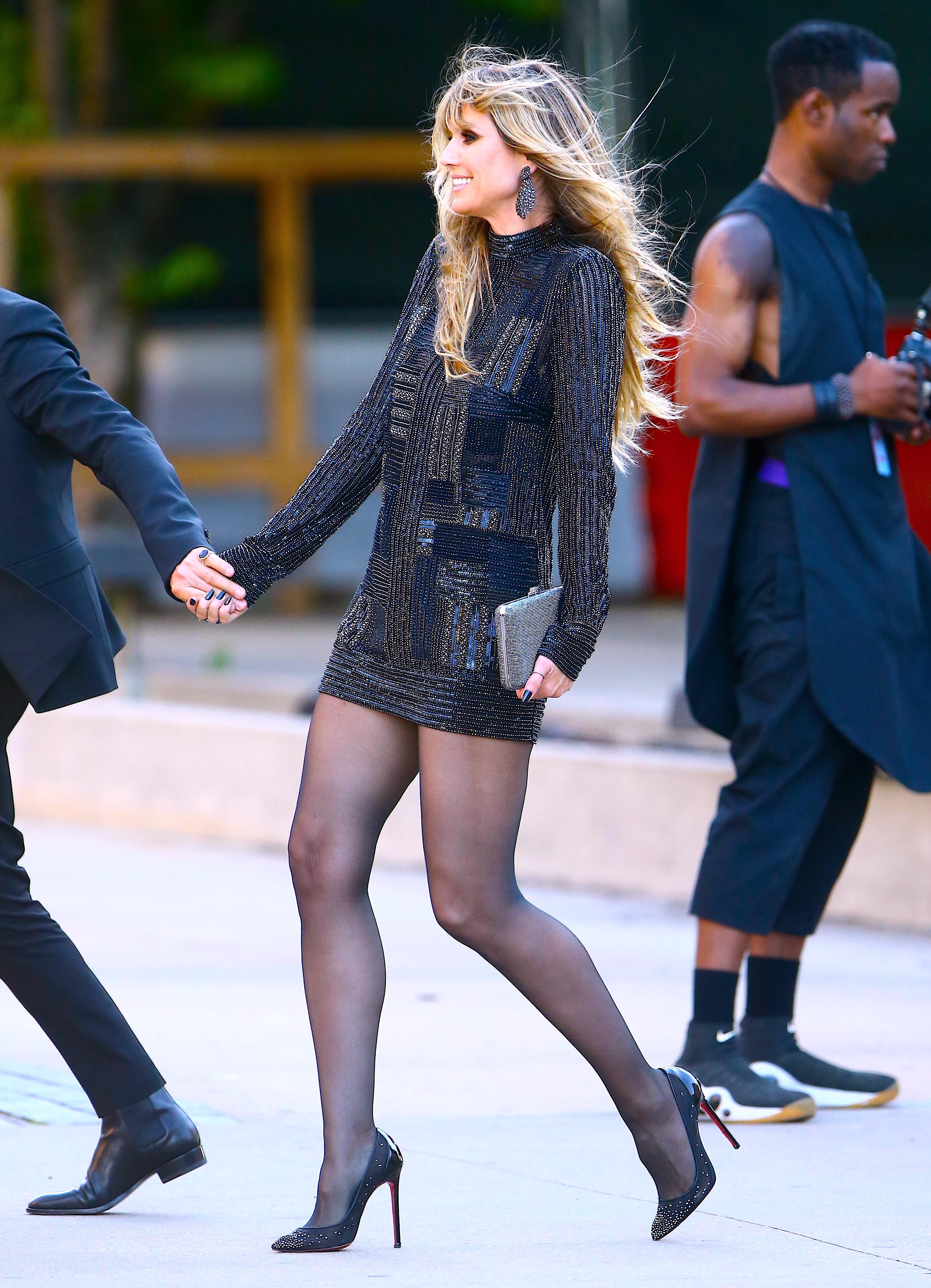 Legs heidi klum Heidi Klum