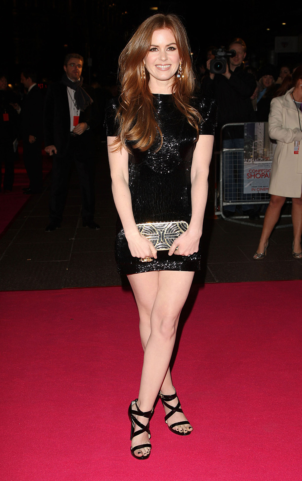 legs Isla fisher