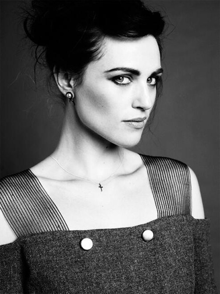 Katie mcgrath black and white