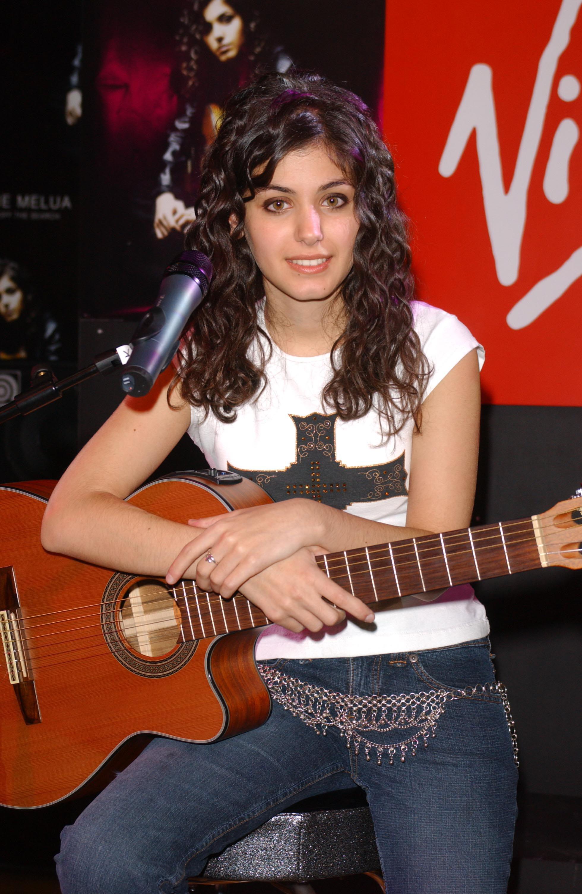 The show guitar