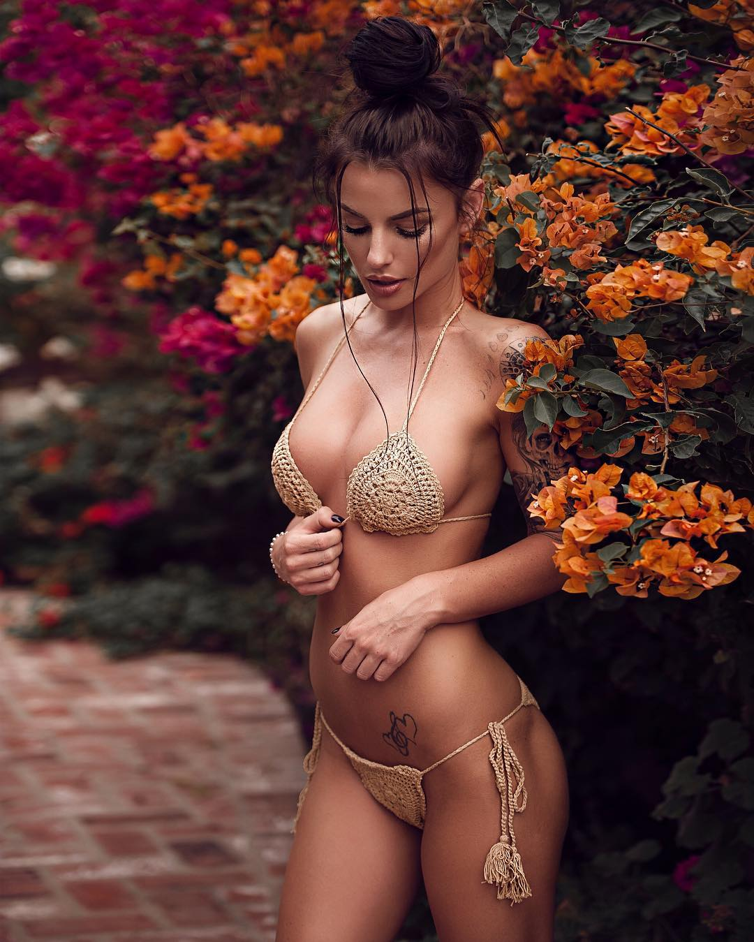 Topless sexy boobs