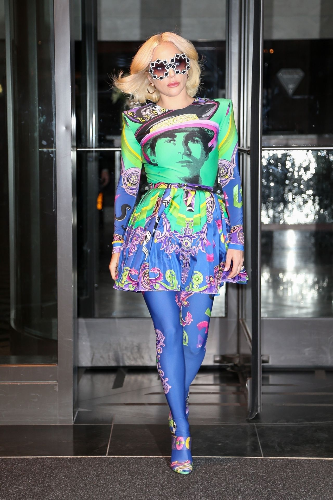 lady_gaga_in_a_multicolored_dress_nyc_01