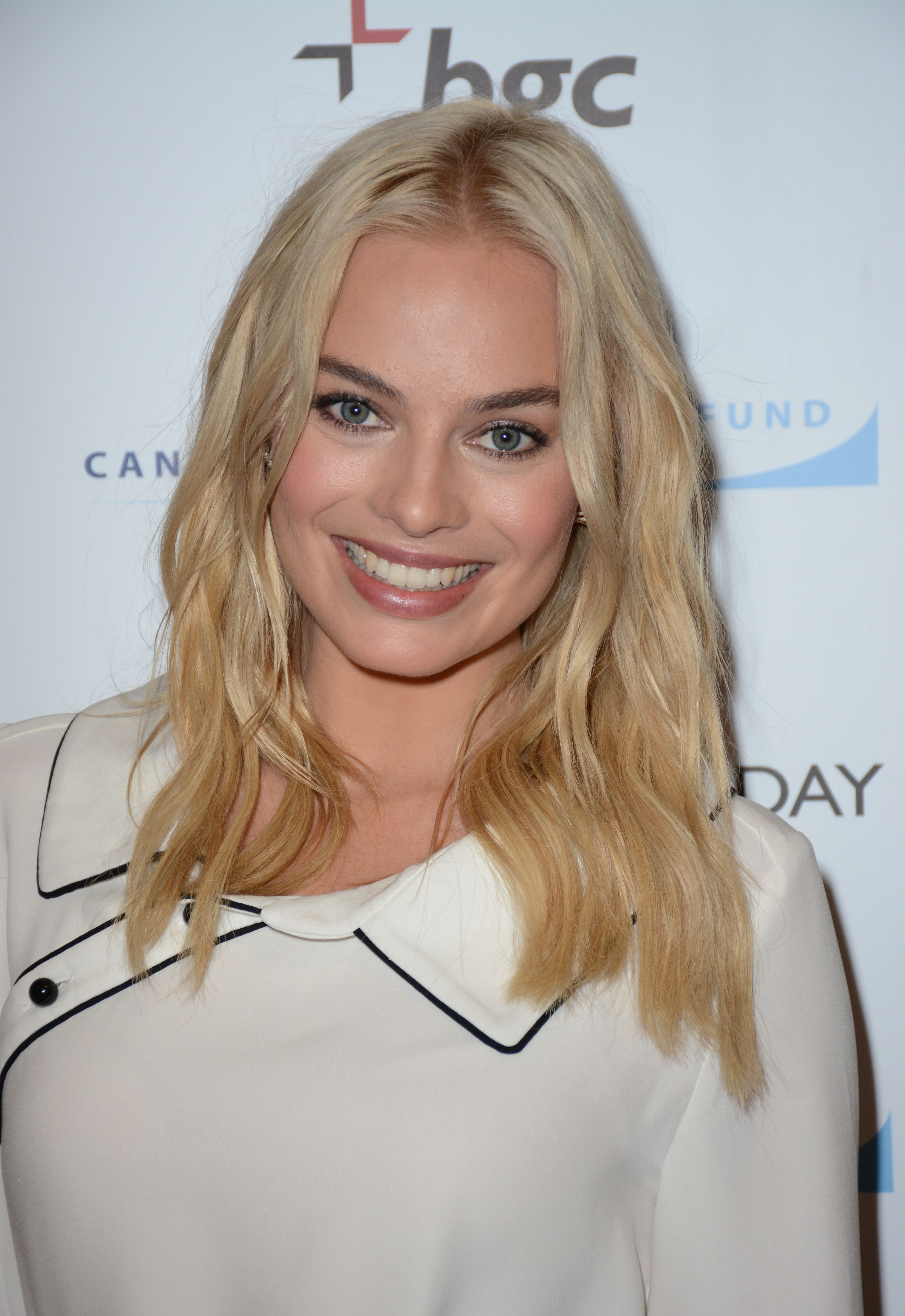 Margot Robbie Annual Charity Day Hosted By Cantor Fitzgerald And Bgc In Nyc