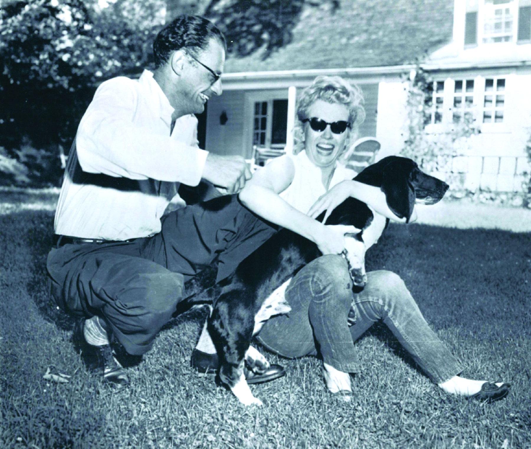 Arthur miller and Marilyn Monroe - the Data]