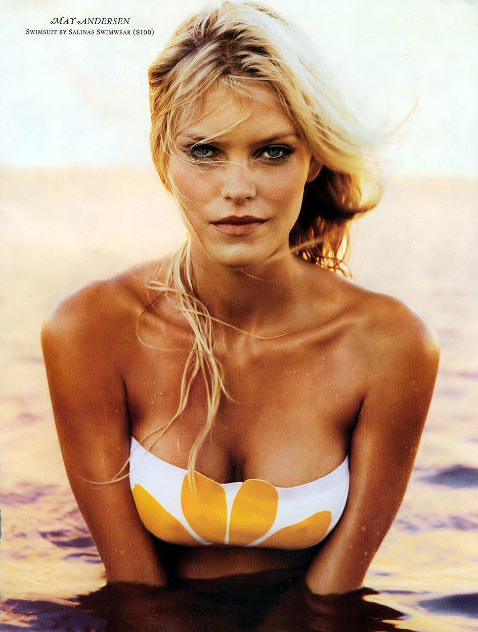 Bikini May Andersen naked (54 images), Fappening