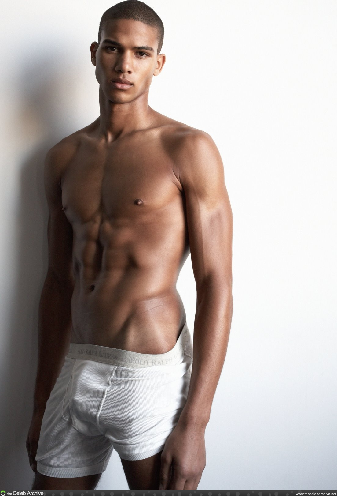 Nude brown skin boy models