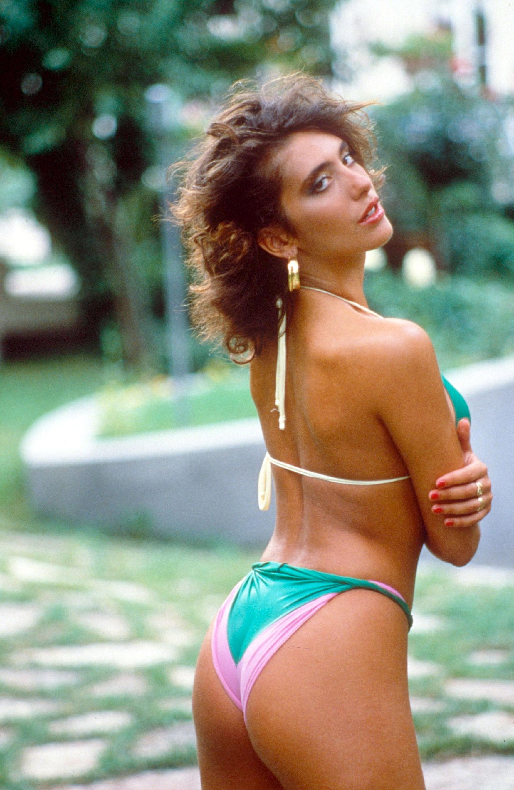 Paparazzi Sabrina Salerno nudes (46 pics), Sideboobs