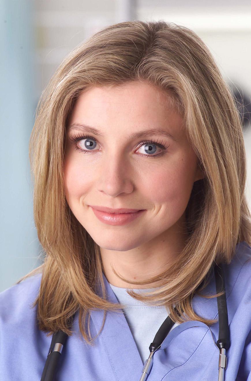 Becky Roseanne Haircut Sarah Chalke ph...