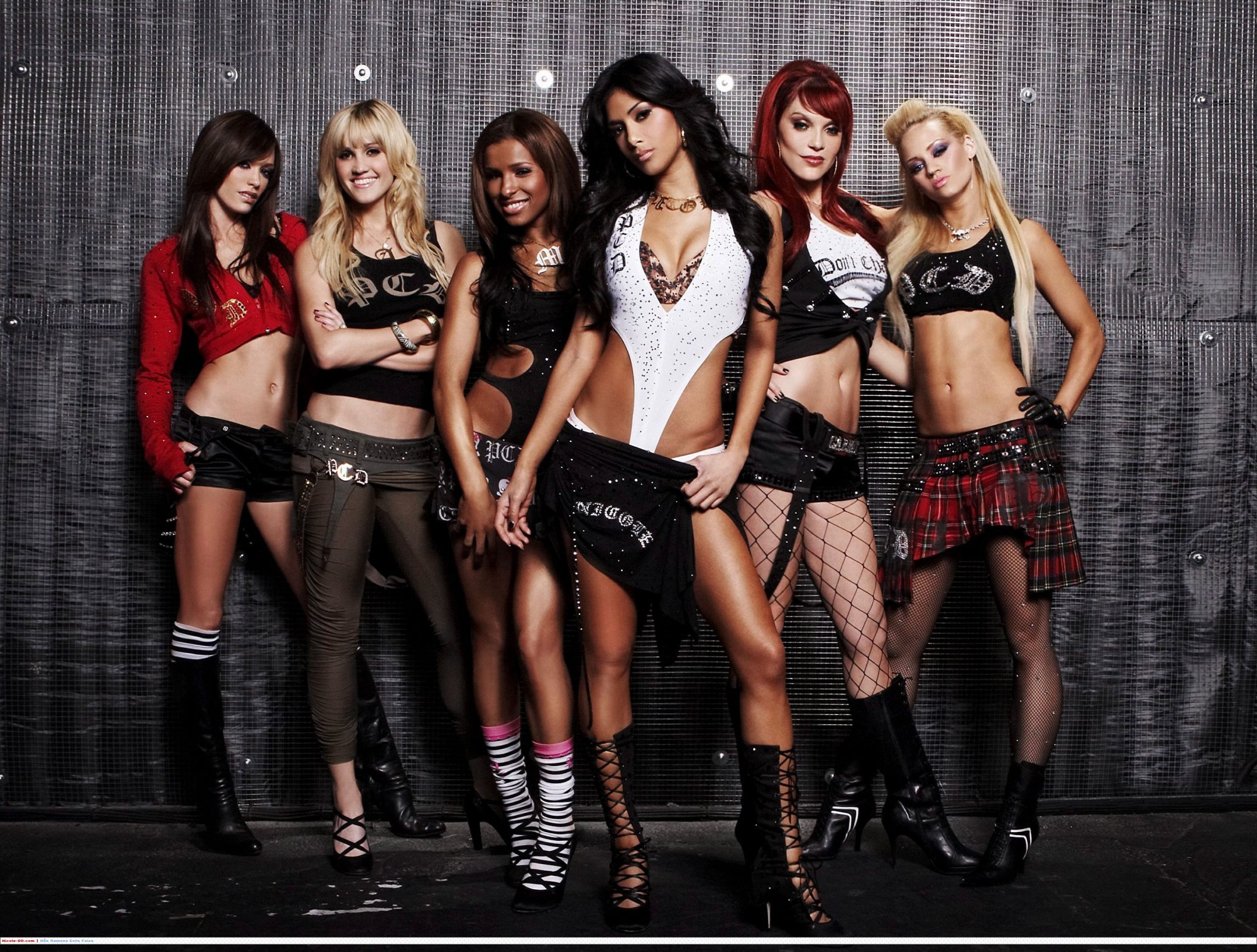 Pussycat dolls-black is back hi5 Layouts - Pimp-My