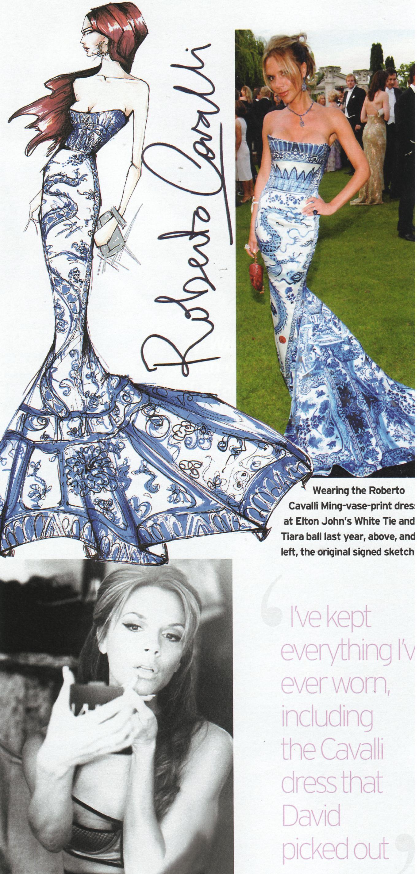 Image result for victoria beckham ming vase dress