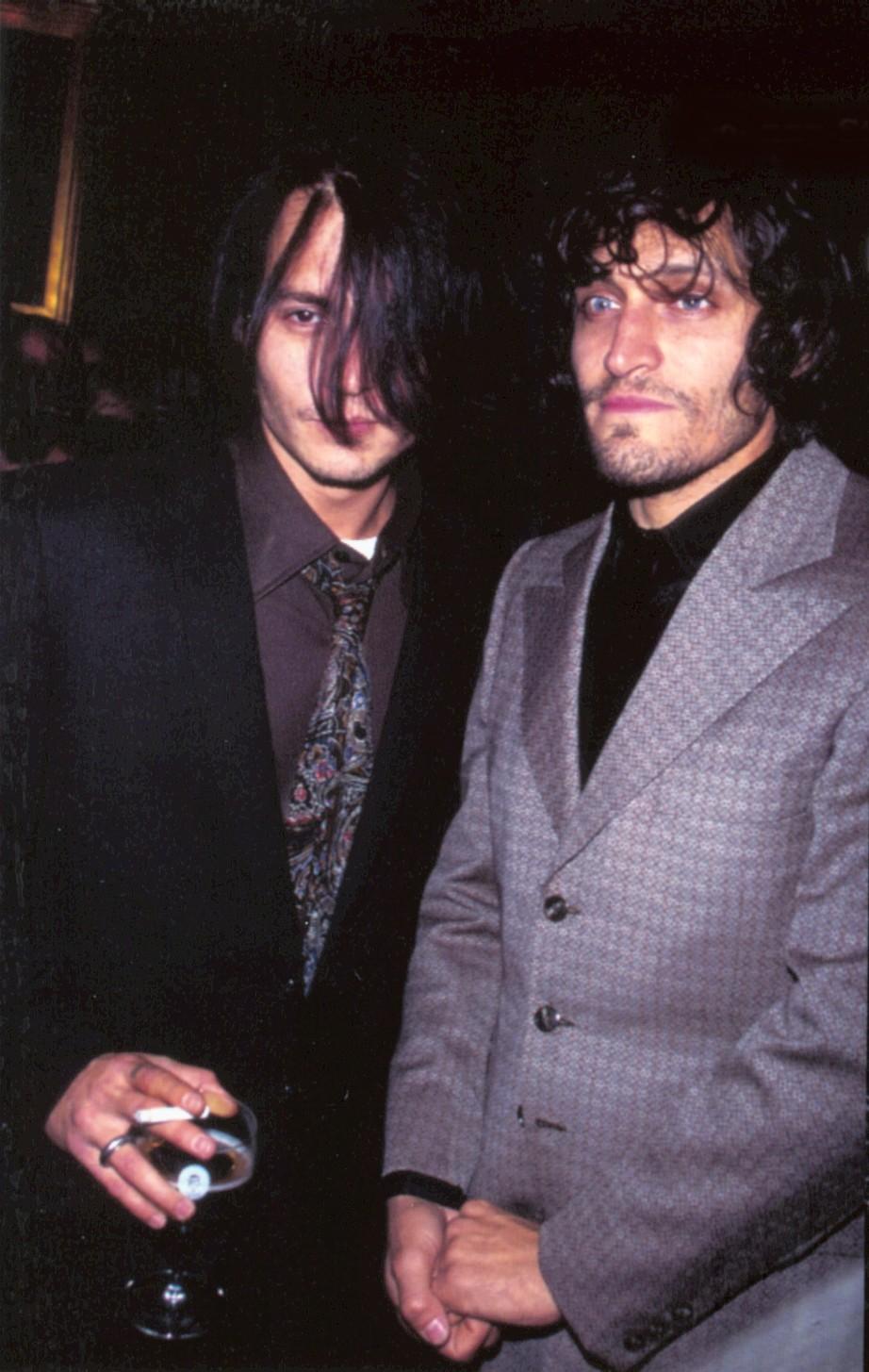 Vincent Gallo photo 4 ... Johnny Depp