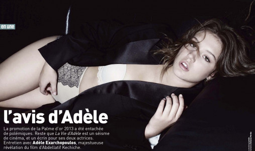 photo 5 in Adele Exarchopoulos gallery [id649146] 2013-11-26
