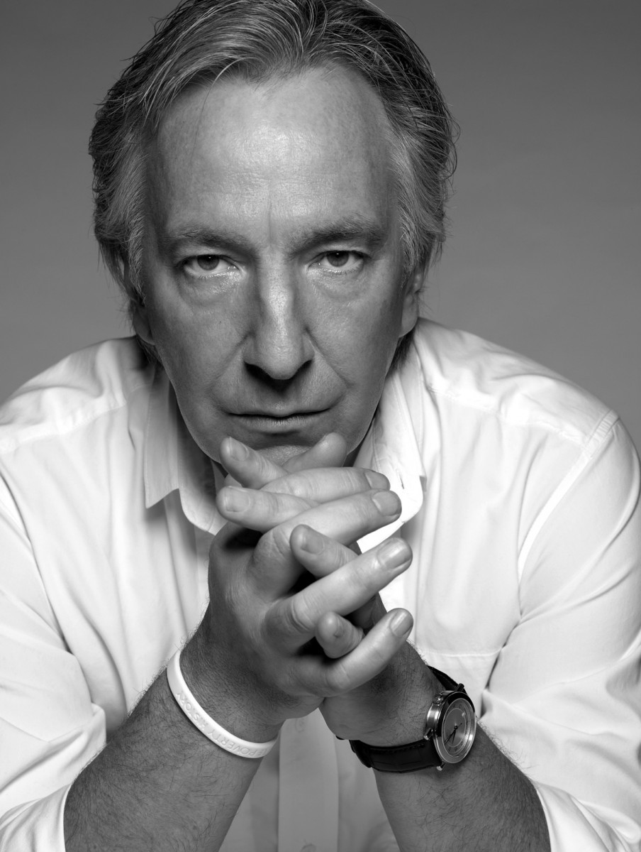 1985 - This is a professional photo of Alan Rickman taken