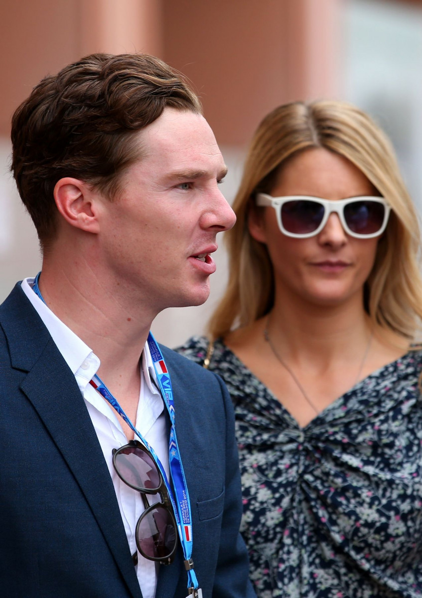 Benedict cumberbatch dating Kinvara Balfour