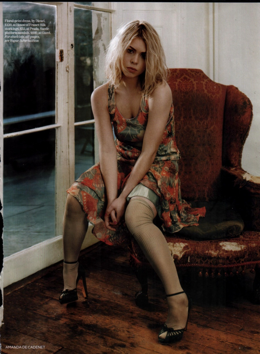 Billie piper stockings