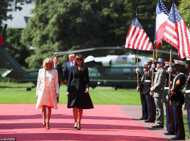 photo 15 in Brigitte Macron gallery [id1144381] 2019-06-14