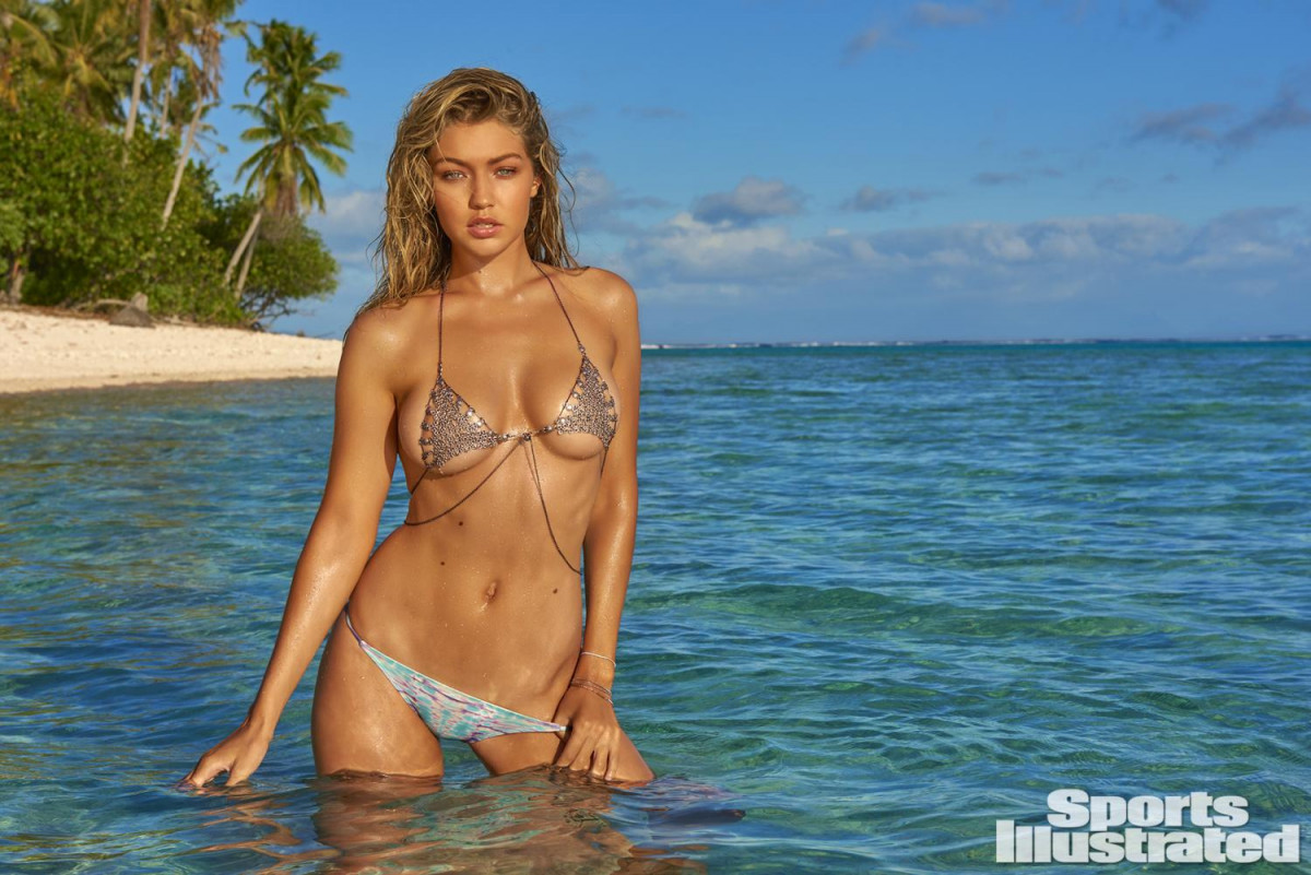 Image result for gigi hadid sports illustrated