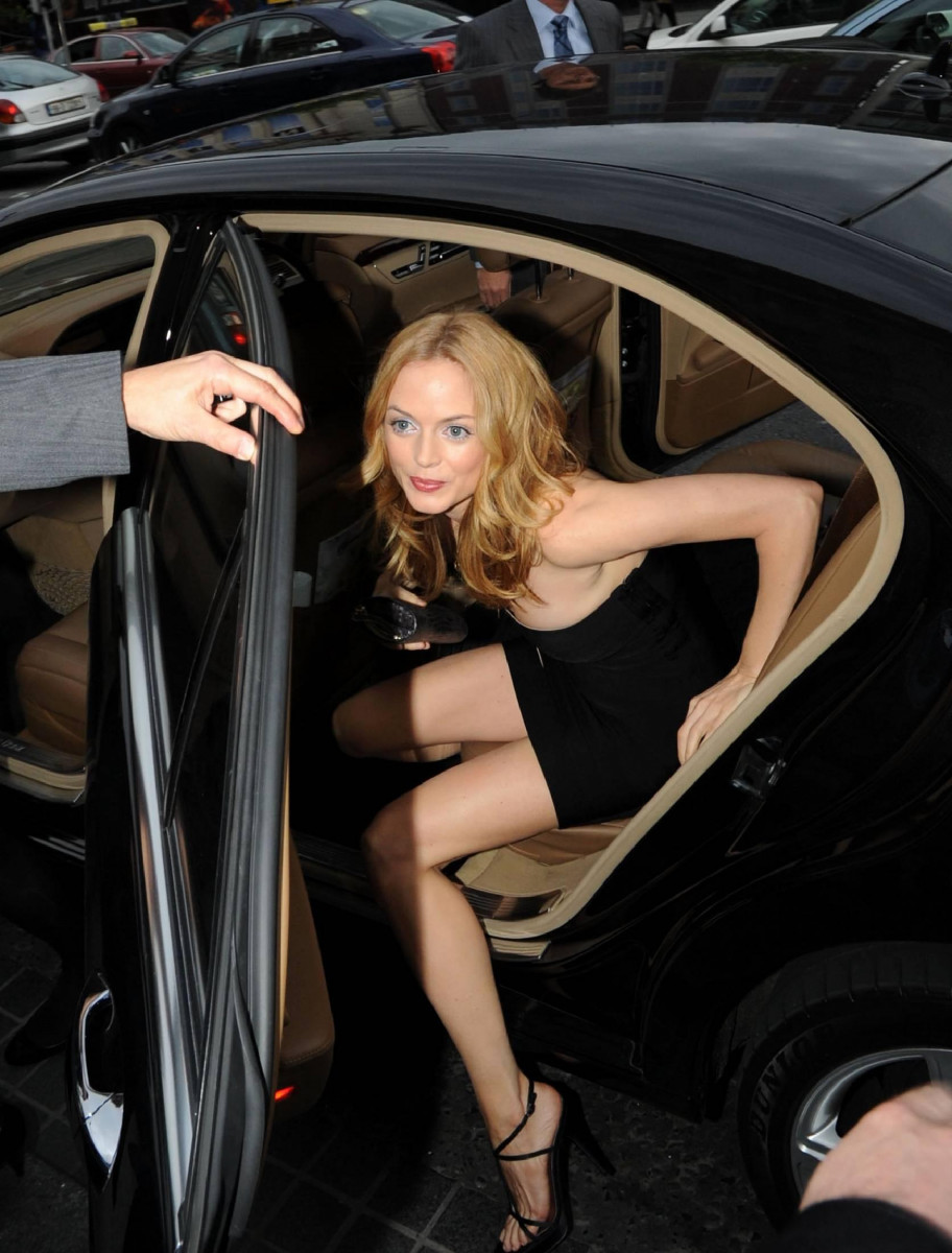 Foto do carro de Heather Graham