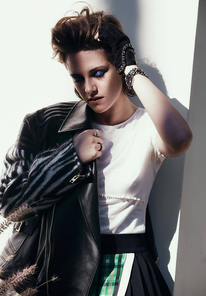Kristen Stewart On Nylon Magazine
