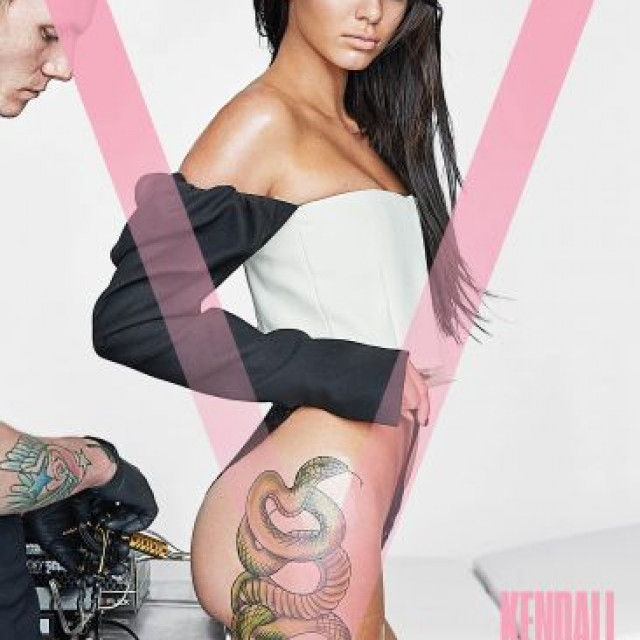 Kendall Jenner's Tattoo On The V Magazine Cover