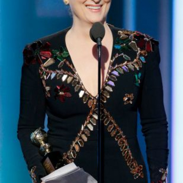 Meryl Streep's Golden Globes Speech Made The Stars Cry